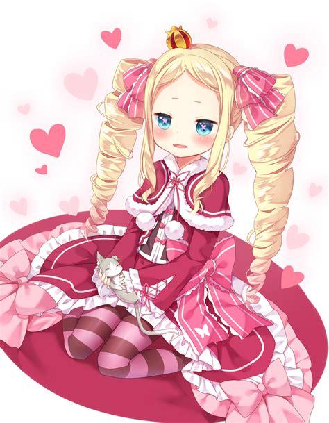 Kaos Anime Fullprint Re Zero Kara Hajimeru Isekai Seikatsu Rem 1 1girl Amashiro Natsuki Bad Id Beatrice Re Zero