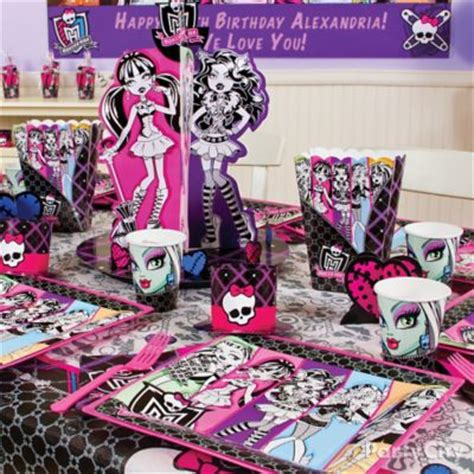 monster high home decor monster high sweets treats monster high party ideas