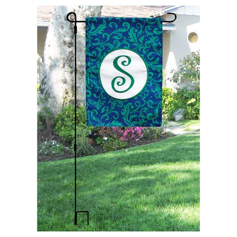 garden flag pole decorative banners and flags