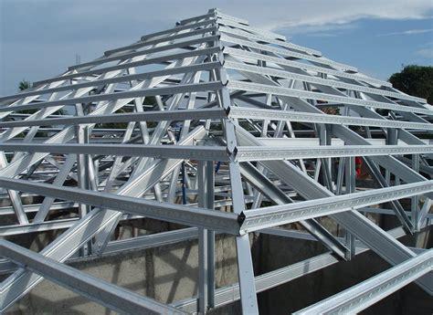 Rangka Baja mengenal rangka atap baja ringan info harga bahan bangunan