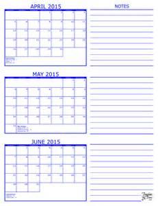 May 2015 Calendar Template by 3 Month Calendar 2015