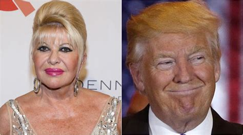 donald trump first wife donald trump s ex wife ivana trump relives divorce from us