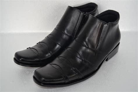 Promo Sepatu Boot Kulit Pria Sepatu Kulit Sepatu Berkualitas Sepatu 1 sepatu boots pria kulit asli tas kulit asli branded murah