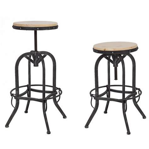 wood top bar stools vintage bar stool industrial metal design wood top