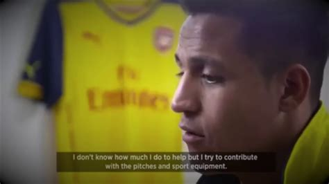 alexis sanchez english interview alexis sanchez bbc documentary arsenal espa 241 ol with