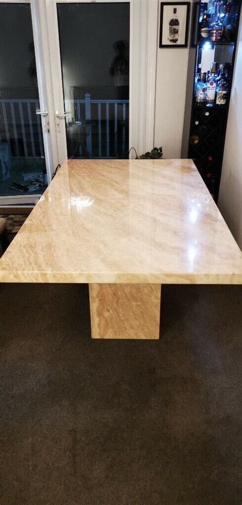 beautiful large marble dining table  ipswich suffolk