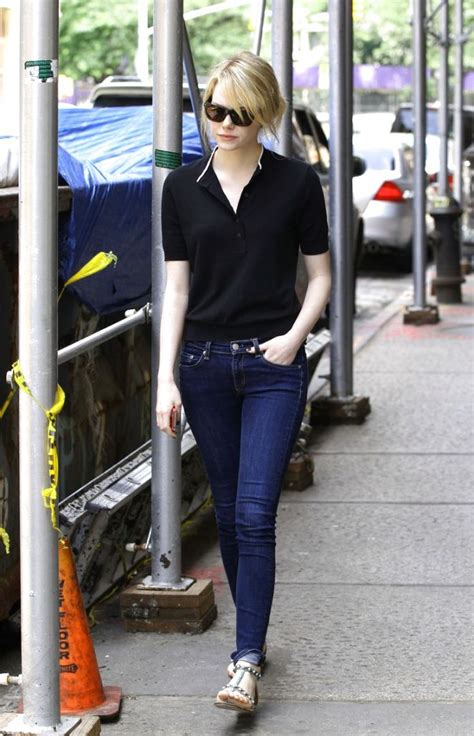 emma stone casual emma stone street style my real style