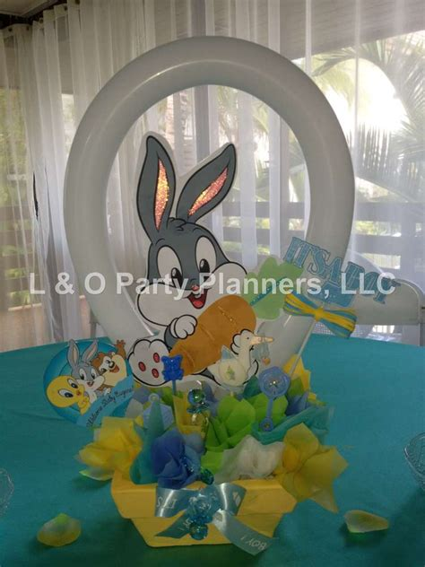 Baby Looney Tunes Decorations by Baby Looney Tunes Baby Shower Ideas Photo 1 Of 34