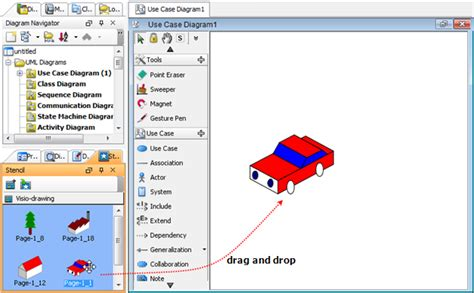 import visio stencils importing visio drawing as stencil
