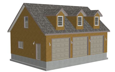 30 x 40 garage plans g532 30 x 40 x 10 rendering sds plans