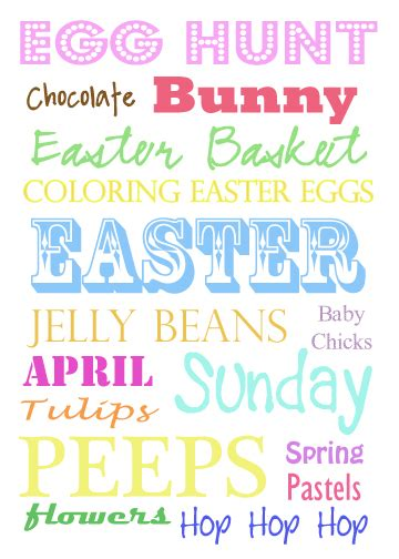 printable easter quotes craftionary