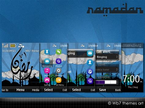 nokia x2 watch themes nokia x2 00 theme ramadan available free nokia series 40