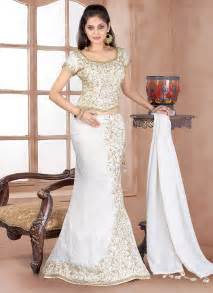Online Shopping For Home Decorative Items Buy Mod White Tissue Lehenga Choli Online Shop Your