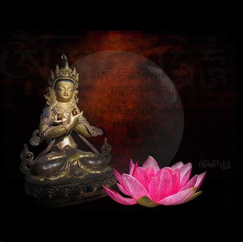 vajradhara buddha lotus digital by h kopp delaney