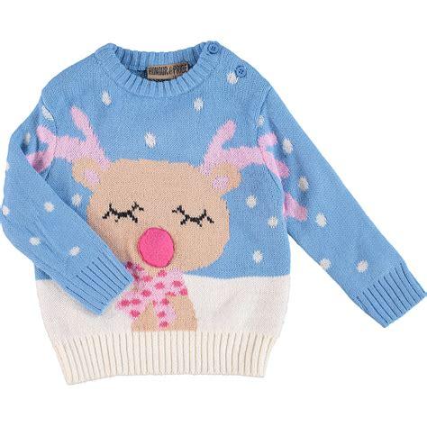 Baby Jumper Pink baby jumper sweater knitwear reindeer