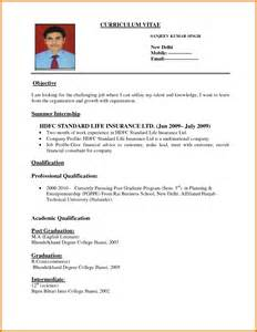Tommy J Break Up Letter Format Resume For Job Application For Blank Resume Form