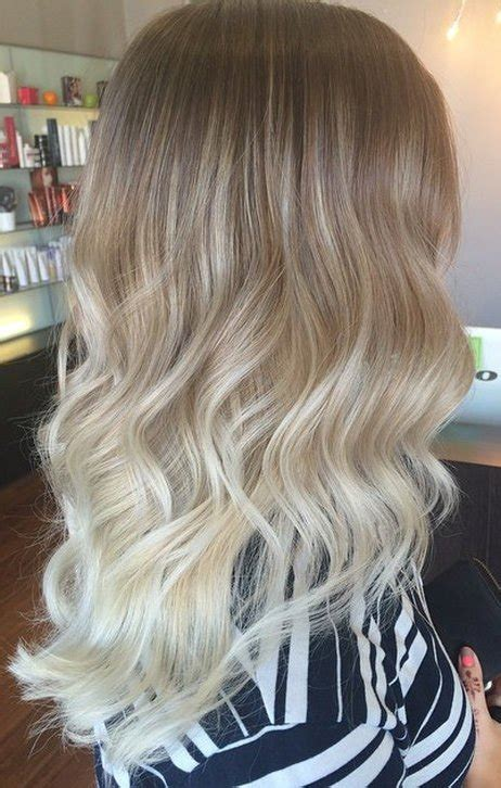 worlds best ash blonde ombre 20 ideas for ash blonde and silver ombre