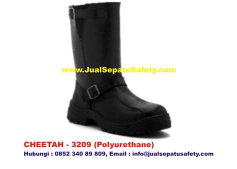 Sepatu Safety Cheetah Boot gudang supplier utama safety shoes cheetah 3209