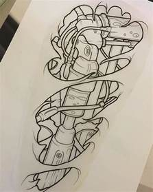 best 25 biomechanical tattoo ideas on pinterest