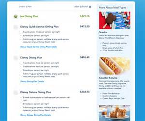 Disney Dining Plan Table Service 2017 Disney Dining Plan Changes Prices Disney Tourist