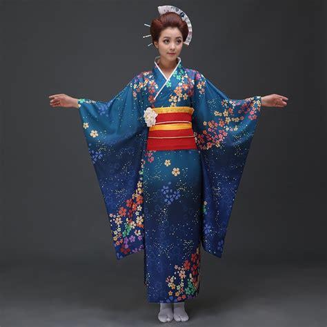 Japanese Kimono traditional navy japanese kimono for with