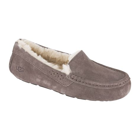 ugg slippers ansley gray ugg ansley slippers