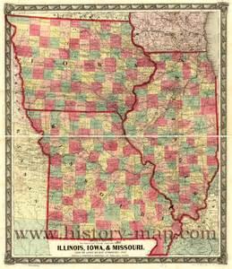 Iowa Illinois Map by Map Of Iowa Iowa Maps Mapsof Net