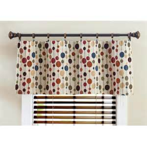 better homes and gardens valances better homes and gardens hodgepodge valance walmart
