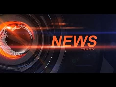 News Intro After Effects Template Ae Templates Youtube News Intro Template