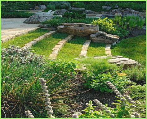 Sloping Backyard Landscaping Ideas Landscape Sloped Yard Alabamainauguration