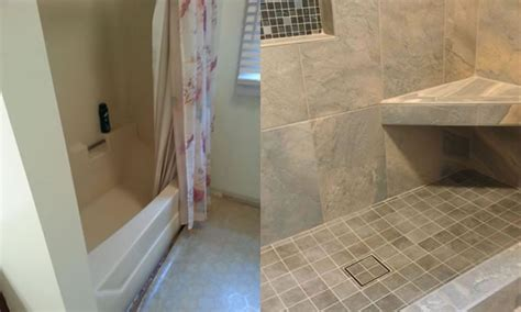 Convert Bathtub Into Walk In Shower Converting A Tub To A Shower Harrisburg Pennsylvania