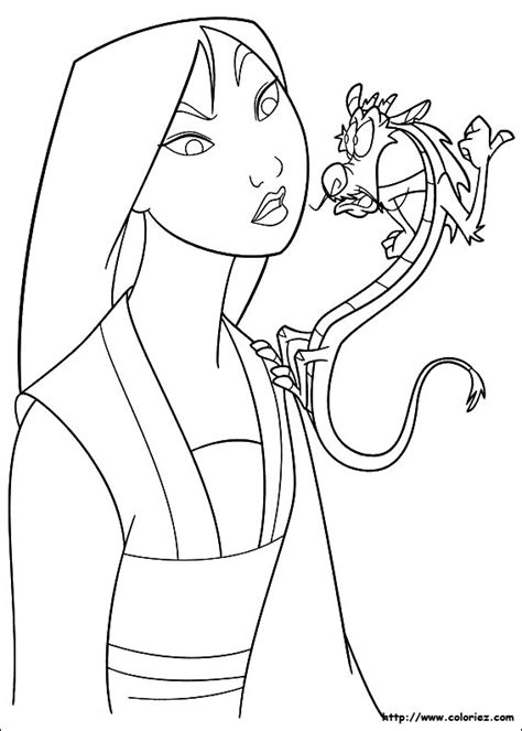 Mulan Chibi Coloring Pages Coloring Pages Mulan Coloring Pages