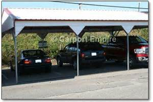 4 car carport 3 bay side drive carport 20 x 31 x 9