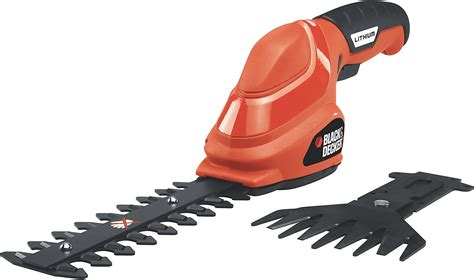 Black Decker 3 6v Lithium Offset black decker gsl35 3 6v lithium cordless hedge trimmer
