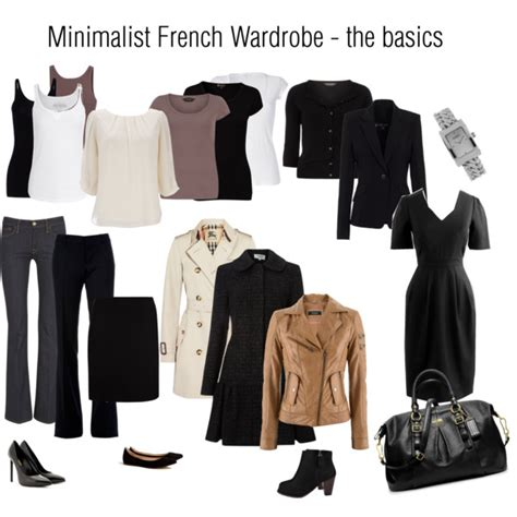How To Build A Minimalist Wardrobe by Minimalist Wardrobe Basics Polyvore