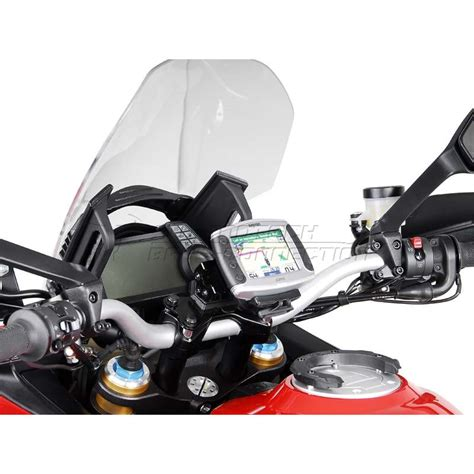 Motorrad Navi Enduro by Support Gps Sw Motech Lock Ducati Multistrada 1200