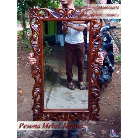 Cermin Persegi Panjang pigura cermin ukir persegi panjang pesona mebel jepara