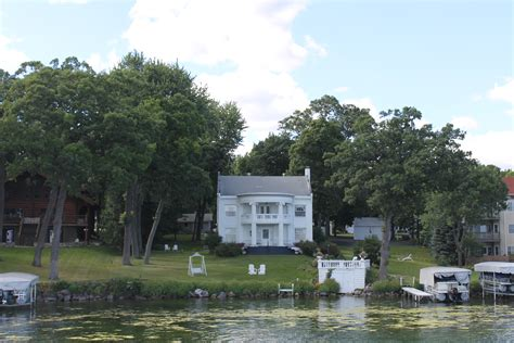 boat angel wisconsin tour wisconsin s deepest inland lake fall travel series