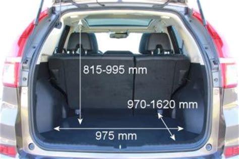 Honda Cr V Kofferraum Abmessungen by Adac Auto Test Honda Cr V 1 6 I Dtec Executive 4wd