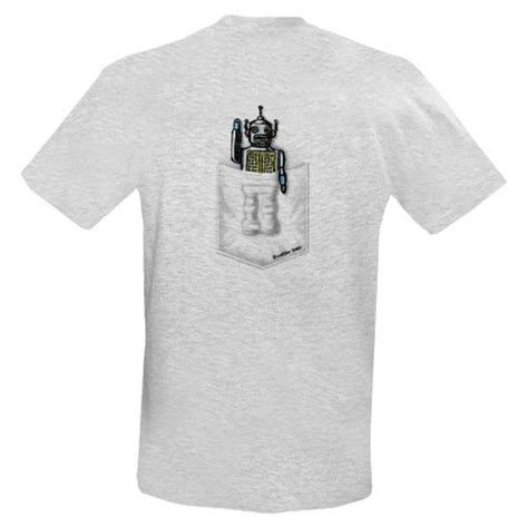 geeky clothing the pocket robot t shirt