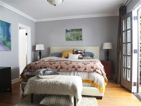 gray master bedrooms ideas hgtv