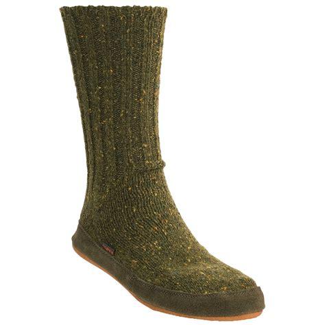 acorn mens slipper socks acorn merino wool slipper socks for and 2834t