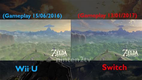 wii has bad graphics system breath of the switch vs wii u graphics