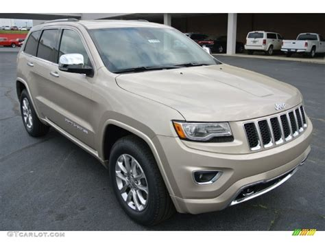 jeep cherokee brown 2014 cashmere pearl jeep grand cherokee overland 4x4