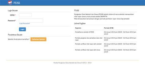 informasi dasar terkait pangkalan data sekolah dan siswa pdss