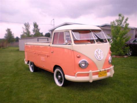 volkswagen wagon 1960 1960 volkswagen single cab for sale on bat auctions