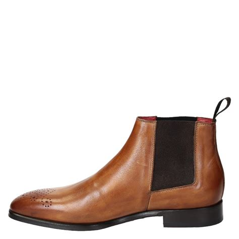 mens chelsea brogue boots s chelsea brogue boots in color leather
