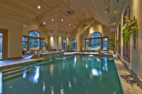 in door pool indoor pool traditional pool seattle by artifact
