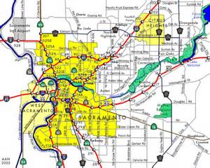 maps of sacramento