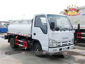 Isuzu Water Truck Isuzu Water Bowser Trucks From Spv Are In Sale Water